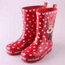 兒童雨靴雨鞋可愛迪士尼米妮兒童雨靴雨鞋....