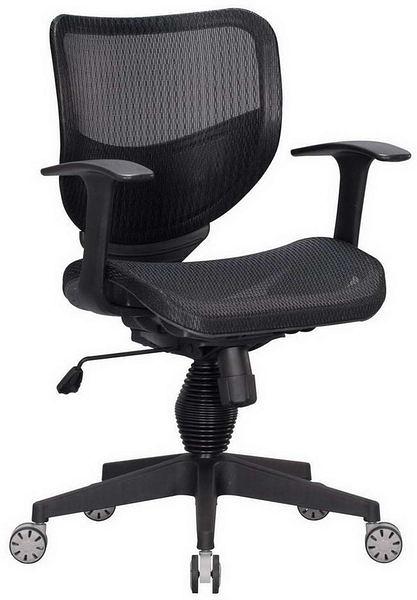 HP362-02 全網椅TS-080/黑網/氣壓+後仰