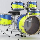DIXON Jet Set Plus鼓座式爵士鼓組-含支架/踏板/鼓椅/鼓棒(不含銅拔)