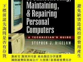 二手書博民逛書店Troubleshooting,罕見Maintaining, & Repairing Personal Compu