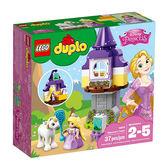 樂高積木 LEGO《 LT10878 》2018 年 Duplo 幼兒系列 - 長髮公主高塔 ╭★ JOYBUS玩具百貨