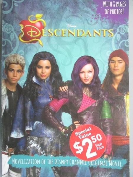 【書寶二手書T7/原文小說_OJX】Descendants: Junior Novel (Scholastic spec