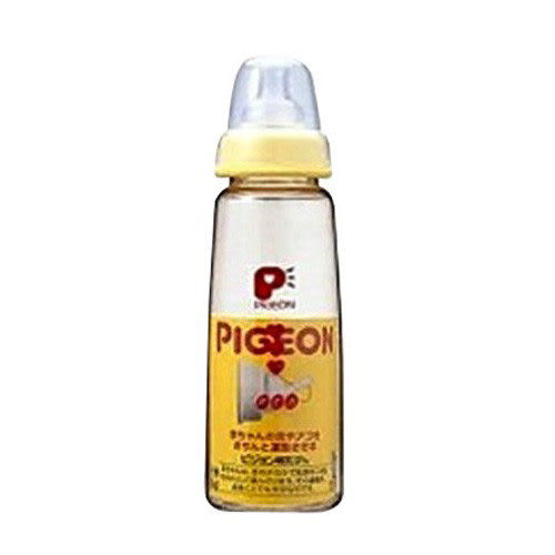 【奇買親子購物網】貝親PIGEON一般口徑PPSU母感奶瓶(160ml)