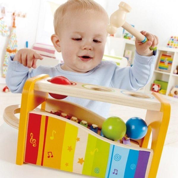 兒童玩具 / 益智玩具 德國 Hape / Educo 愛傑卡系列 │ 音樂響宴 - 木質玩教具 # E0305AE
