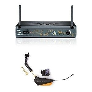 JTS UR-816D/UT-16GT UHF PLL單頻道自動選訊接收機+UHF PLL吉他/管樂/手風琴發射機(含6.3GT Plug.508GT.16GT Clip)