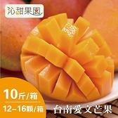 沁甜果園SSN.台南愛文芒果(12-16粒裝/10台斤)﹍愛食網