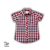 小孩短袖格子衫-[Winceys] REVREF