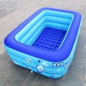 大號游泳池小孩洗澡浴盆嬰兒充氣游泳池兒童玩具池家用·享家生活館IGO