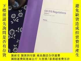 二手書博民逛書店CG罕見515 Regulations (Volume 2)Y2