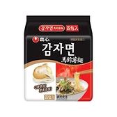 韓國 農心 馬鈴薯麵4入(整袋裝)【小三美日】