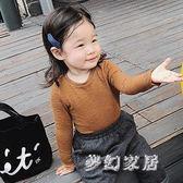 中大尺碼長袖t恤洋氣寶寶棉質兒童打底衫sd2096『夢幻家居』