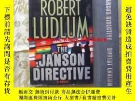 二手書博民逛書店英文原版罕見【精裝大開本】 傑森命令(小說) The Janson Directive by Robert Lud
