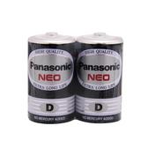 【Panasonic 國際牌】碳鋅電池1號(2入)