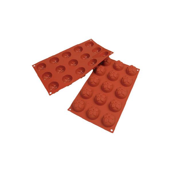 義大利進口《Silikomart》15連小茉莉型矽膠模/冰模/巧克力模/30.079.00.0060