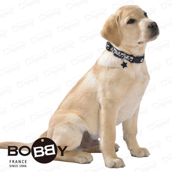 法國《BOBBY》喝采項圈 [S] 寵物項圈 傑克羅素/臘腸/獵狐梗 小狗項圈