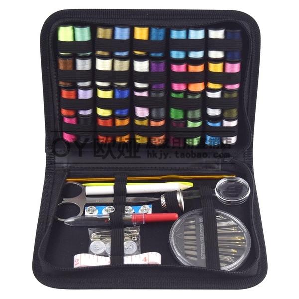 跨鏡熱銷針線包 針線套裝 手工縫補組合 旅行套裝 128件套現貨   蘑菇街小屋