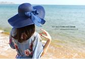 沙灘帽帽子女夏天沙灘海邊出游遮臉韓版百搭防曬大沿夏季太陽遮陽帽草帽 3c公社