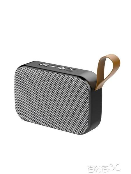 藍芽喇叭 無線藍芽音箱迷你超重低音炮便攜式插卡手機小音響大音量 百分百