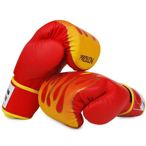 小熊居家五龍火焰拳擊手套散打手套拳套搏擊格斗打沙袋拳擊套成人男搏擊特價
