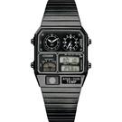CITIZEN 星辰 ANA-DIGI TEMP 80年代復古設計手錶 指針/數位/溫度顯示(JG2105-93E)