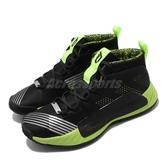 adidas 籃球鞋 Dame 5 J-STAR WARS 黑 綠 女鞋 大童鞋 運動鞋 里拉德 星際大戰 【PUMP306】 EH2470