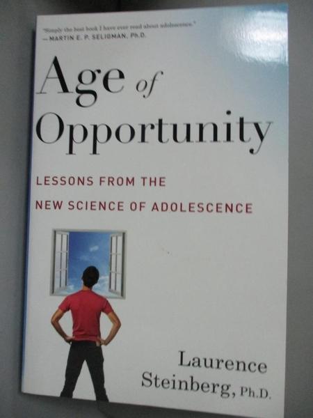 【書寶二手書T7/心理_FSX】Age of Opportunity: Lessons from the New Sci