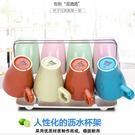 創意玻璃收納啤酒茶杯置物架Eb7923『毛菇小象』