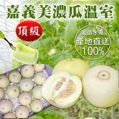 【果之蔬-全省免運】嘉義溫室美濃瓜X5台斤(每顆約250-280克)