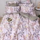 床包兩用被組 / 雙人加大【蔓葉舞曲】含兩件枕套 60支天絲 戀家小舖台灣製AAU315