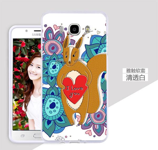 ♥ 俏魔女美人館 ♥ Samsung Galaxy J7 2016版 小狐狸-水晶硬殼 手機殼 手機套 保護殼 保護套