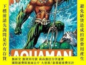 二手書博民逛書店英文原版Aquaman:罕見A Celebration of 75 Years 海王:75周年集 精裝 水行俠