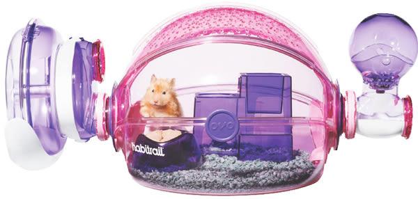 《Hagen赫根》OVO寵物鼠籠 NO.62664 / Habitrail女孩房