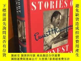 二手書博民逛書店The罕見Short Stories of Ernest Hem