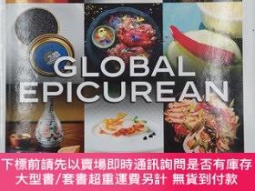 二手書博民逛書店Global罕見Epicurean (Luxury Collection) 菜譜 裝飾書Y19139 Josh