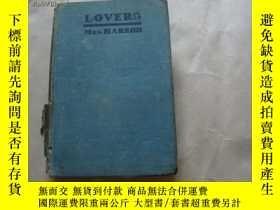 二手書博民逛書店罕見LOVERS[1926年精裝】Y9470 MRS.HARRO