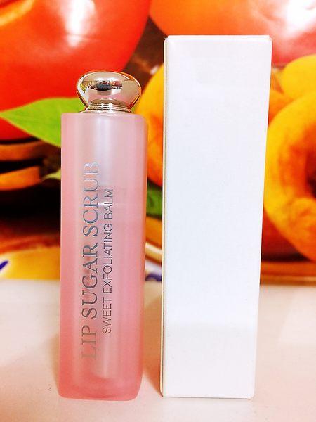 Dior 迪奧 蜜糖磨砂潤唇膏(#001)(3.5g) 百貨公司專櫃正貨白盒裝