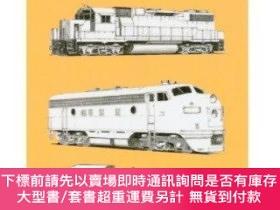 二手書博民逛書店A罕見Field Guide To Trains Of North America (peterson Field