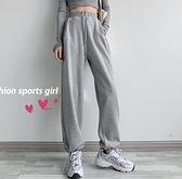 運動休閒褲女寬鬆束腳春秋夏新款顯瘦百搭薄款運動褲子