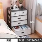 床頭櫃 簡約現代歐式免安裝簡易儲物收納置物架臥室床邊可愛小柜子【快速出貨八折搶購】