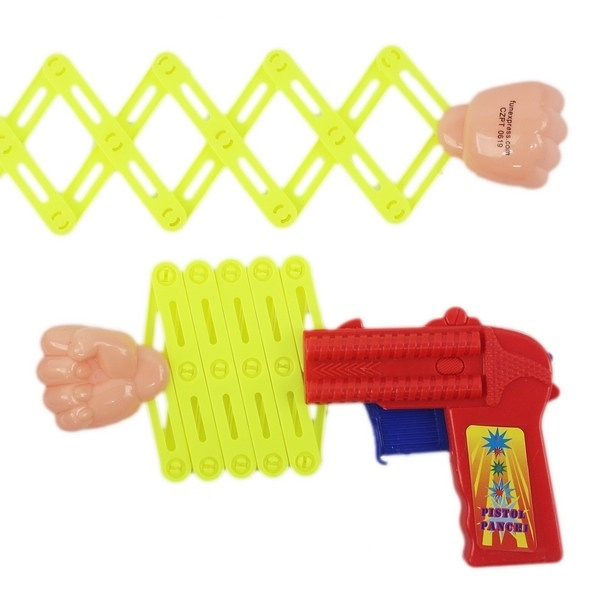 伸縮拳頭槍 大 整人拳頭玩具槍 童玩/一個入(促15) 拳球槍 彈簧槍 伸縮槍 拳頭玩具槍 -瑋