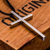 十字架項?男士女吊墜飾品基督徒長短款情侶項?一對日韓配飾