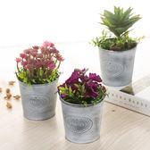 創意家居仿真綠植多肉盆栽客廳臥室假花擺件植物盆景裝飾品擺設 森活雜貨