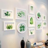 一件8折免運 北歐木質客廳網格照片牆簡約相片餐廳裝飾創意相框掛牆組合背景牆xw