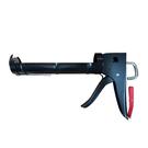 A08-613 不滴膠矽利康槍 附切刀(黑色) 壓膠槍 施工槍 矽膠槍 台灣製造