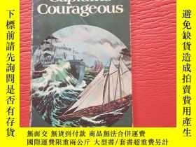 二手書博民逛書店Captains罕見Courageous怒海餘生Y104209