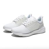 ADIDAS 慢跑鞋 全白 白 網布 訓練 運動 EQ19 RUN 女 (布魯克林) H68092