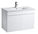 洗臉盆+浴櫃(吊櫃)+水龍頭+全部配件 寬61x深47x高62cm 100%防水PVC發泡板鋼琴烤漆