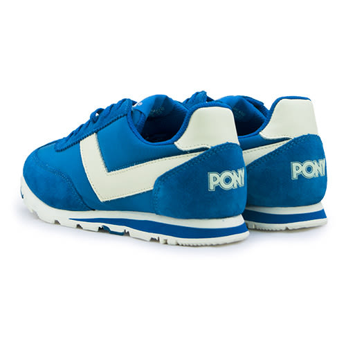 LIKA夢 PONY 繽紛韓風復古慢跑鞋 SOHO 美國系列 寶藍米 53W1SO79RB 女  6折好康