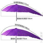 電動車遮陽傘新黑膠電動電瓶踏板摩托自行車遮陽傘雨棚蓬擋風罩擋雨防曬遮雨傘 NMS街頭潮人