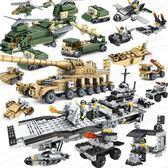 (超夯大放價)拼裝積木 積木玩具男孩子6軍事拼裝12智力10小學生XW